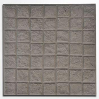 Baldosa Paving Stone Adoquín Gris  40x40 cm