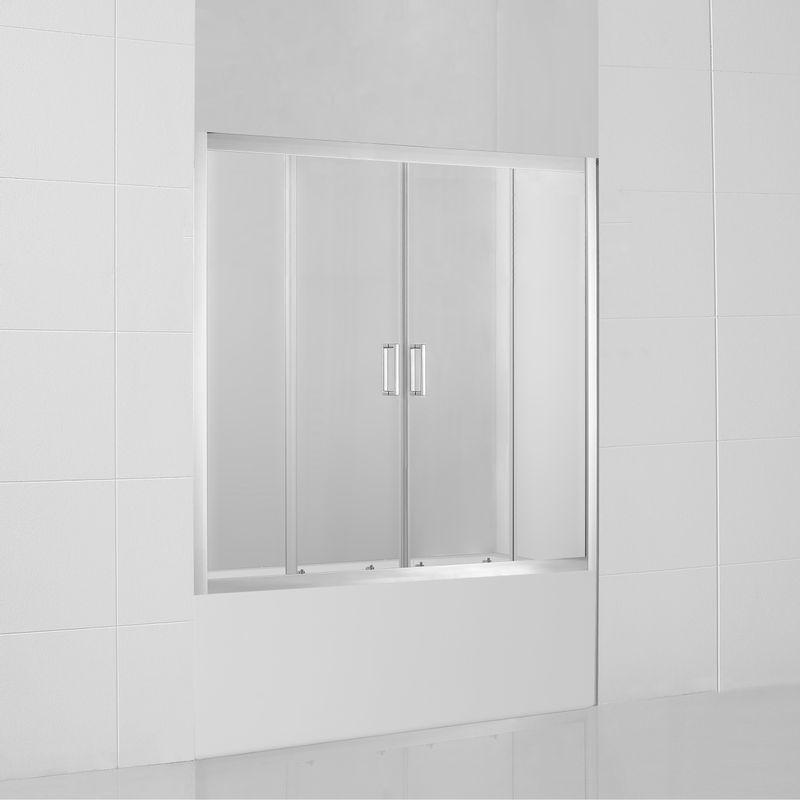Baños-Mampara-Style-Corredera-Tina-Perfil-Cromado-1700x1400-mm