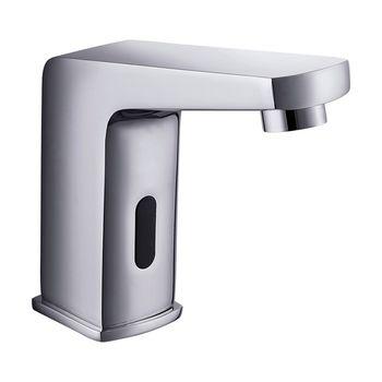 Griferia Lavamanos Public con Sensor Electrónico a Bateria Cromado