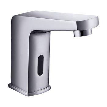 Griferia Lavamanos Public con Sensor Electrónico a Red Electrica Cromado
