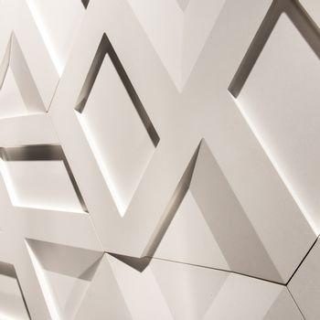 Cemento Arquitectónico Infinity Branco Paris Mate  55x63x2.5 cm