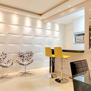 Cemento Arquitectónico Prisma Uno Paris Branco Mate  40x60 cm