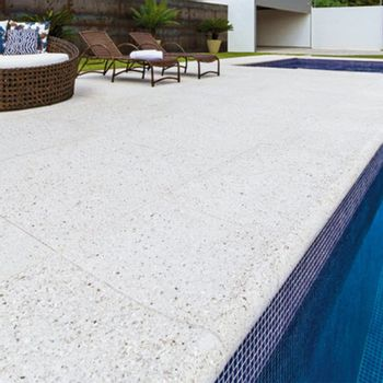 Cemento Arquitectónico Borda Classico 35 Pacific Branco Mate  35x50 cm