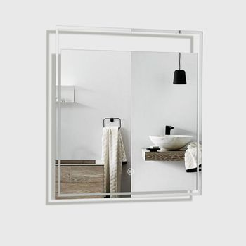 Espejo Twinkle Rectangular con Luz Led 600x30x600 mm