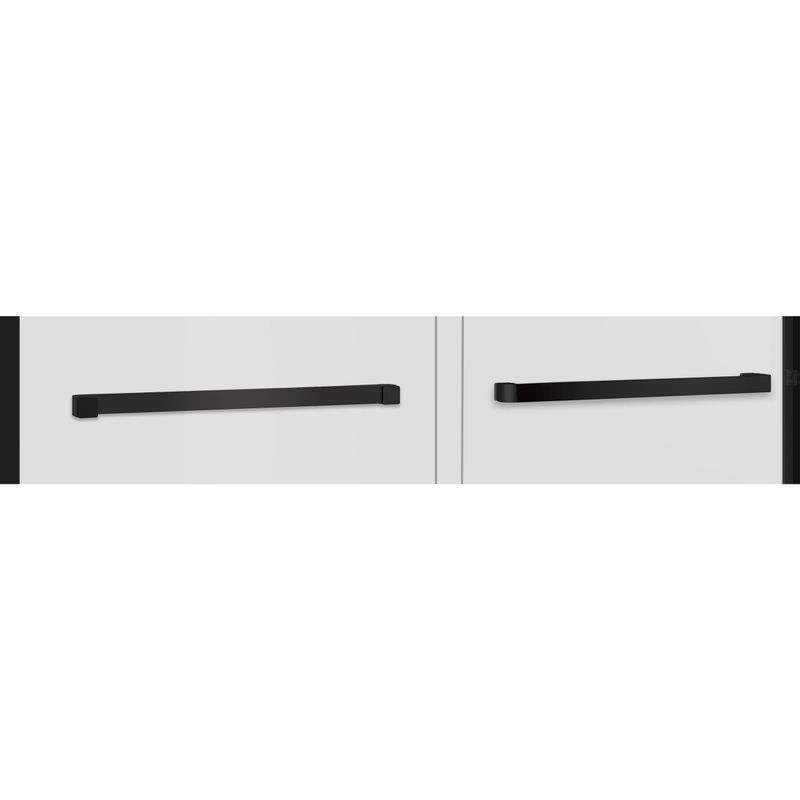 Baños-Mampara-Artemisa-Doble-Corredera-Ducha-Vidrio-Templado-Reversible-Perfil-Negro-Mate-1400x1950-mm