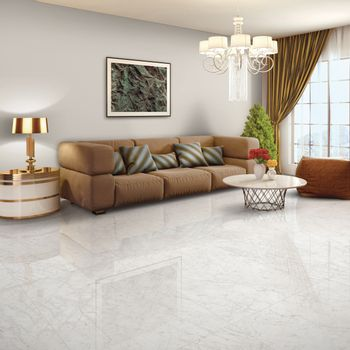 Porcelanato Classic Carrara Pulido 60x120 cm