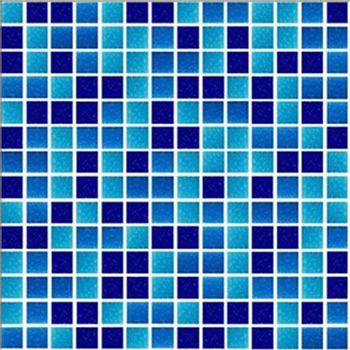 Mosaico Mezcla Azul 32x32 cm