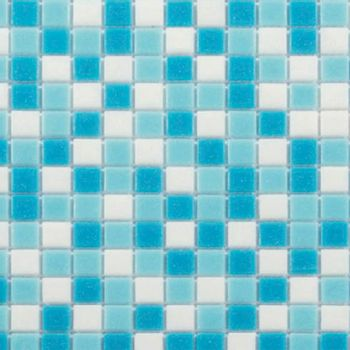 Mosaico Mezcla Cielo 32x32 cm