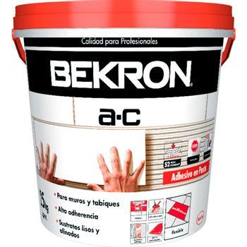 Adhesivo Ceramica Bekron A.C Pasta 25 Kg