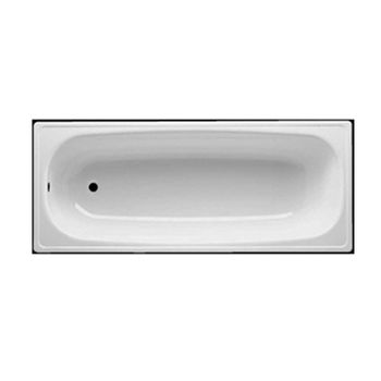Tina Empotrada Sacha con Bota Agua sin Antideslizante Blanco 700x1700 mm