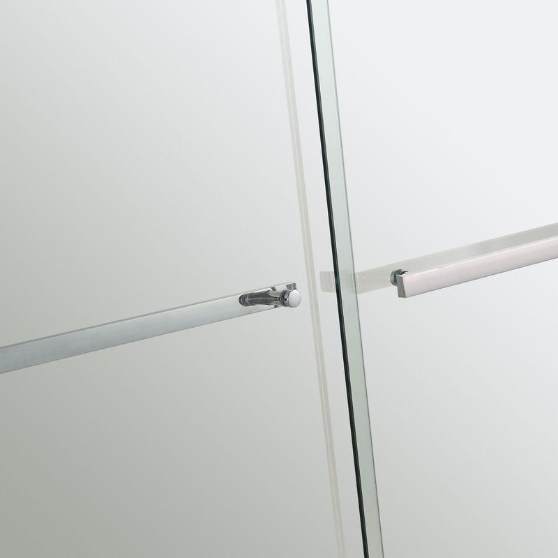 Baños-Mampara-Twin-Doble-Corredera-Receptaculo-Perfil-Cromado-1400x1980-mm